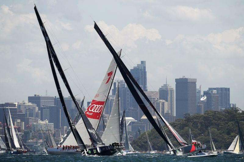 Yachts Sydney Hobart Black Jack Perpetual Loyal Wild Oats
